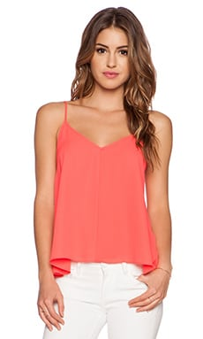 Eight Sixty Cami in Neon Coral