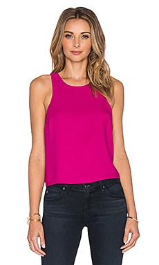 Eight Sixty Crop Top in Magenta