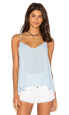 Eight Sixty V Neck Tank in Angel