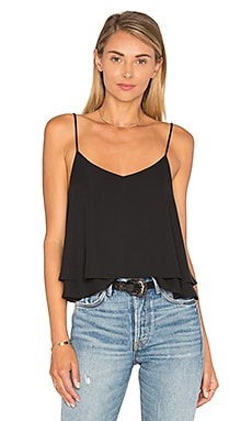 Eight Sixty Tiered Crop Top in Black