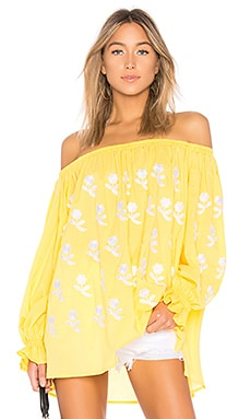 Flower Power Off The Shoulder Top Eleven by March 11 $275