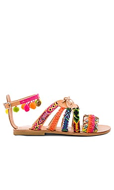 Hula Hoop Sandal in Multi