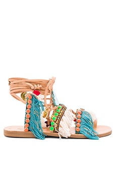 Mint Mojitos Sandal in Multi