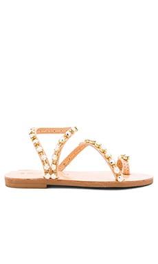 Swarovski Crystals Irize Sandal in Nude