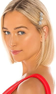 Crystal Short Hair Comb Elizabeth Cole $22 (FINAL SALE)