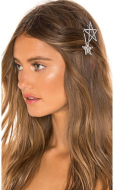 Star Hair Pin Set Elizabeth Cole $97