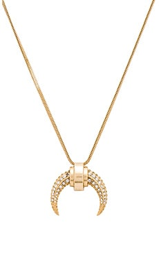 Collier en Golden Crystal