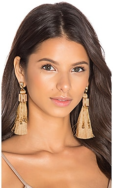 Earrings in Blush