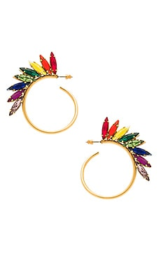 Rainbow Hoops in Tropical