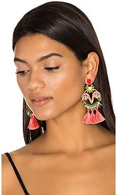 Tassel Earrings en Tropical