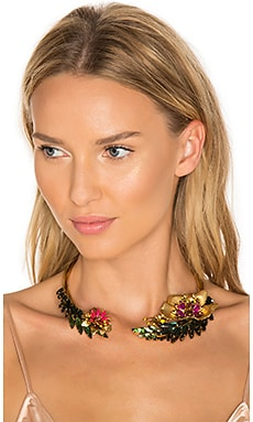 Flower Choker in Tropical