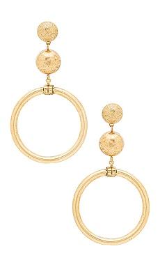 Drop Earrings in Gold