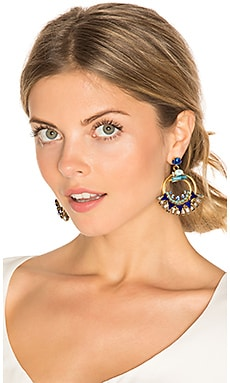 Caden Earring in Cobalt