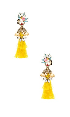 Isobellie Statement Earrings Elizabeth Cole $131