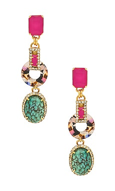 Tamra Earrings Elizabeth Cole $198