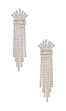 Crystal Fringe Earring Elizabeth Cole $183