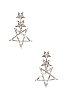 Star Drop Earring Elizabeth Cole $288