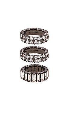 Triple Stack Ring Elizabeth Cole $128