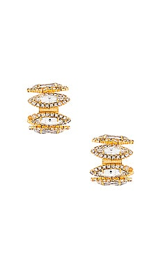 Paulette Earrings Elizabeth Cole $128