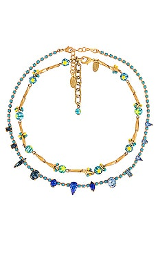 Alicia & Vanessa Necklace Set Elizabeth Cole $242 BEST SELLER