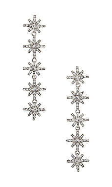 Frankie Earrings Elizabeth Cole $167 NEW
