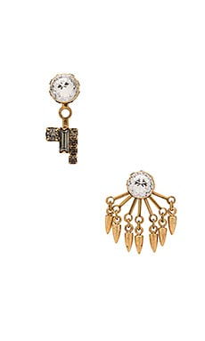 Elizabeth Cole Earring in Golden Neutral