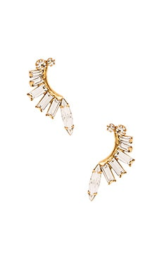Elizabeth Cole Earring in Crystal