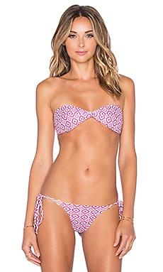 ELLEJAY Floripa Bikini Top in Forever Diamonds