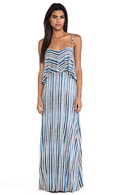 Bondi Maxi Dress in Azure
