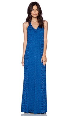 Ella Moss Tempe Maxi Dress in Azure