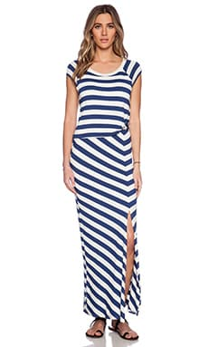 Ella Moss Barbara Maxi Dress in Azul