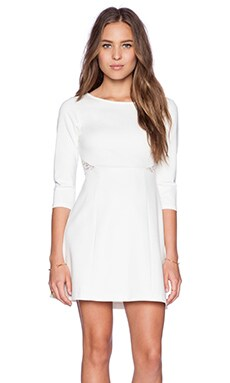 Ella Moss Joy Dress in White