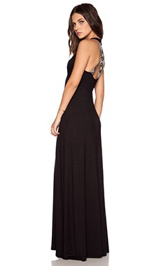 Ella Moss Dario Maxi Dress in Black