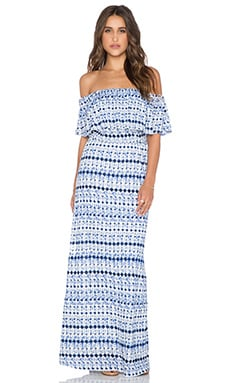 Ella Moss Cortez Maxi Dress in Indigo