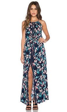Ella Moss Floradita Maxi Dress in Indigo