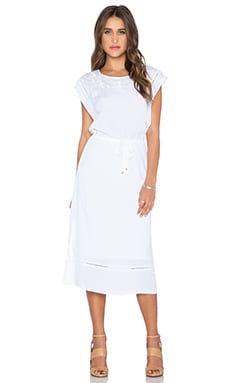 Ella Moss Rosie Maxi Dress in White