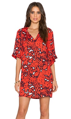 ROBE JUNGLE FLORAL
