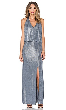 Ella Moss Twilight Maxi Dress in Silver