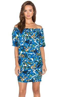 Tahiti Garden Dress in Caribbean