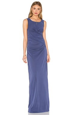 Ella Moss Column Dress in Periwinkle