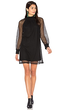 Nikkita Shift Dress in Black