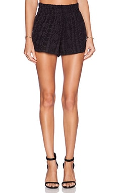 Ella Moss Jazmine Short in Black