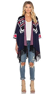 Ella Moss Lima Cardigan in Midnight