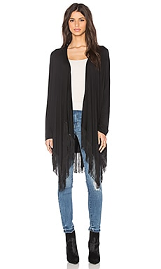 Ella Moss Sandrine Cardigan in Black