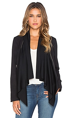 Ella Moss Serena Wrap Jacket in Black