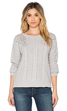 Ella Moss Gia Sweater in Grey