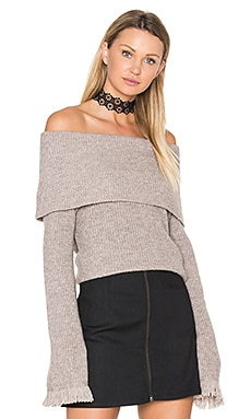 Avila Sweater en Heathered Barley