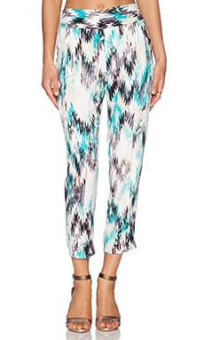 Ella Moss Zia Pant in Turquoise