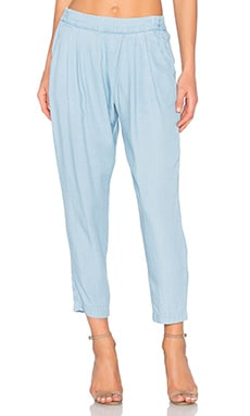 Ella Moss Alina Pant in Light Wash