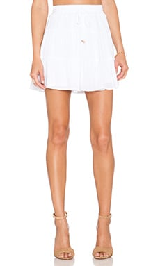 Ella Moss Rosie Skirt in White